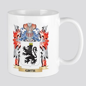 Girth Coat of Arms - Family Crest Mugs