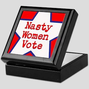 Nasty Women Vote Keepsake Box