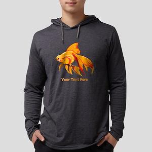 Goldfish Personalized Mens Hooded Shirt