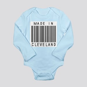 Cleveland barcode Body Suit