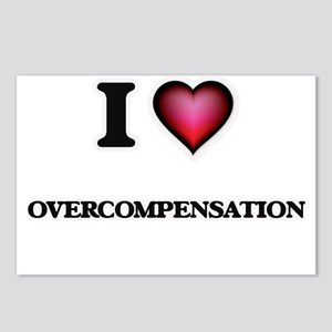 I Love Overcompensation Postcards (Package of 8)