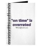 On Time is Overrated 01 Journal