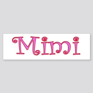 Mimi cutout click to view Bumper Sticker