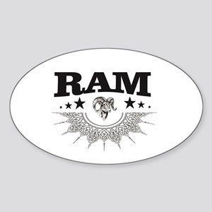 ram in a label cool Sticker