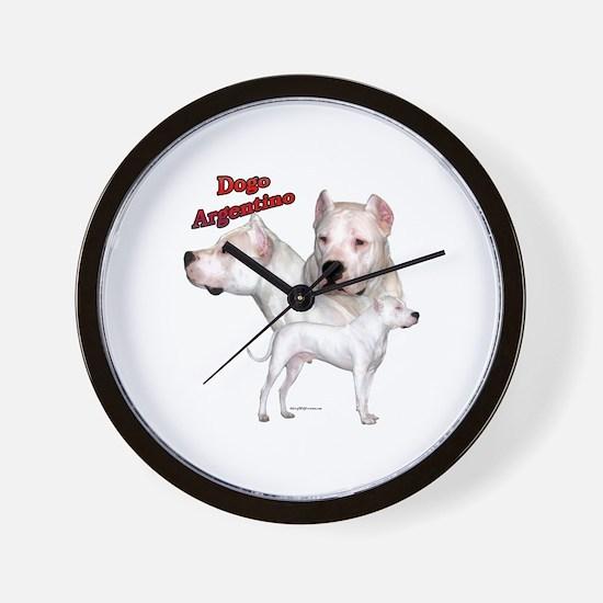 Dogo Trio2 Wall Clock