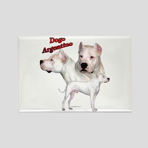 Dogo Trio2 Rectangle Magnet