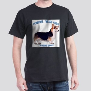 Corgi 3 Ash Grey T-Shirt
