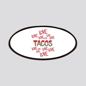 Love Love Tacos Patch