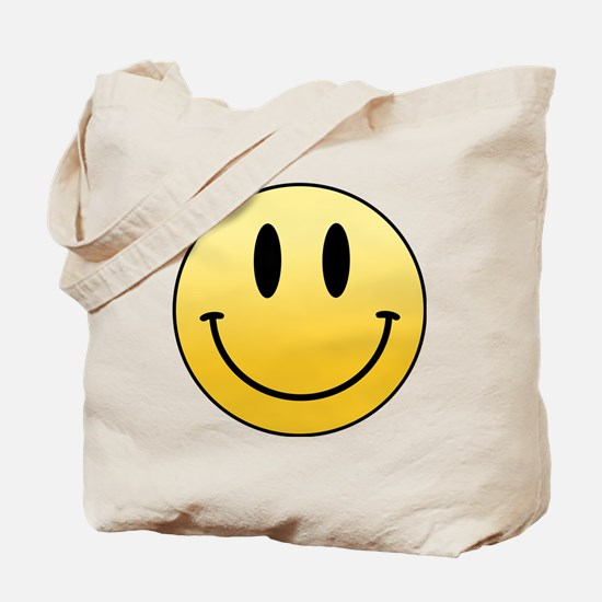 Cute Yellow smiley Tote Bag