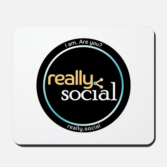 Are You Really Social? Mousepad