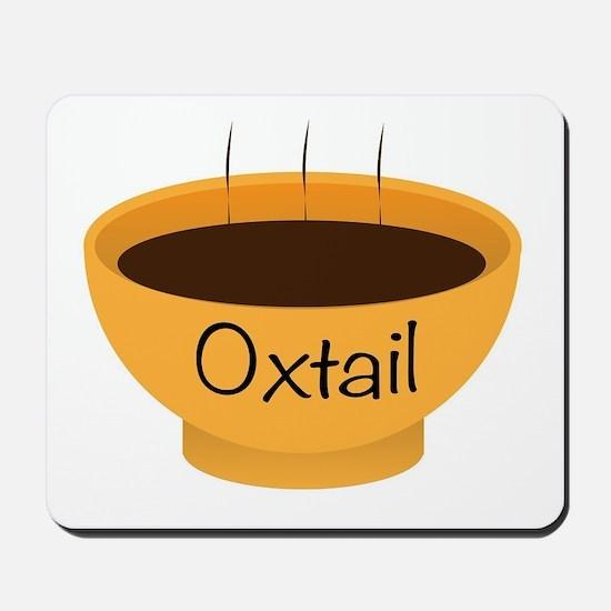 Oxtail Soup Bowl Mousepad