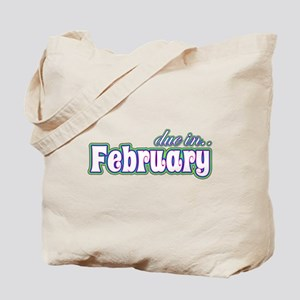 Due In February Rainbow Tote Bag