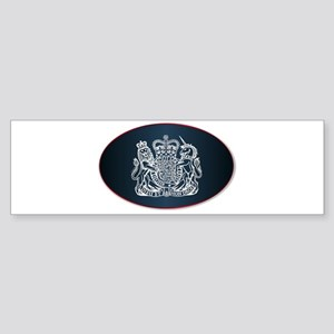 Coat of Arms of the United Kingdom Bumper Sticker