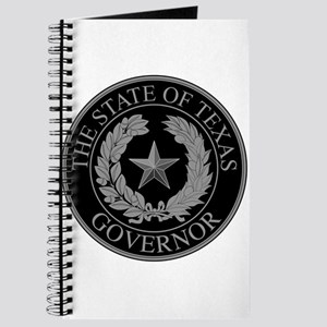 Texas State Governor Seal Journal