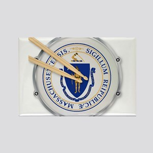 Massachusetts State Snare Drum Magnets
