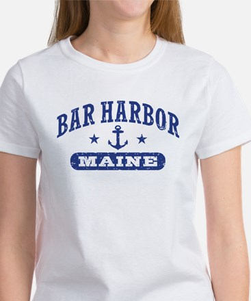 Bar Harbor Maine Women's T-Shirt