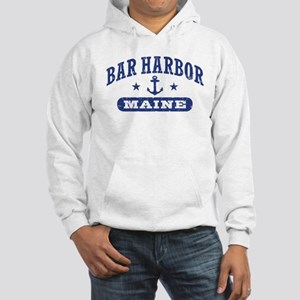 Bar Harbor Maine Hooded Sweatshirt