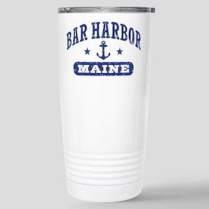 Bar Harbor Maine Stainless Steel Travel Mug