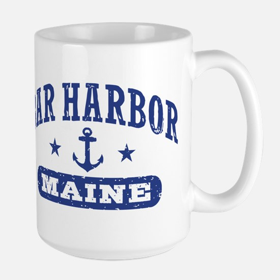Bar Harbor Maine Large Mug