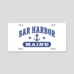 Bar Harbor Maine Aluminum License Plate