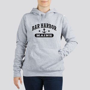 Bar Harbor Maine Women's Hooded Sweatshirt