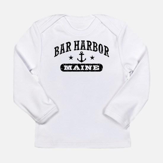 Bar Harbor Maine Long Sleeve Infant T-Shirt