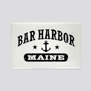 Bar Harbor Maine Rectangle Magnet