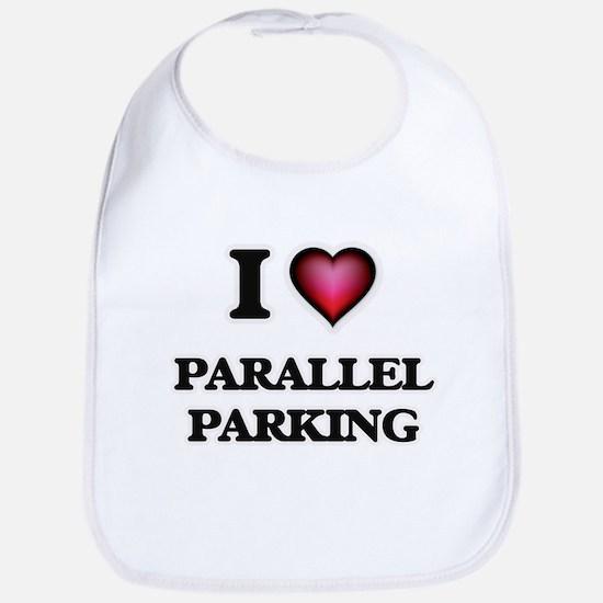 I Love Parallel Parking Bib