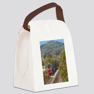 Train Station Canvas Lunch Bag