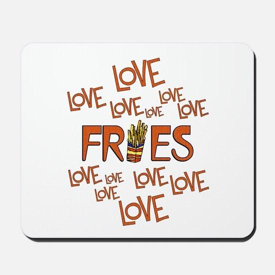 Love Love Fries Mousepad