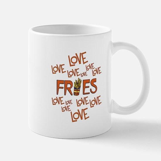 Love Love Fries Mug