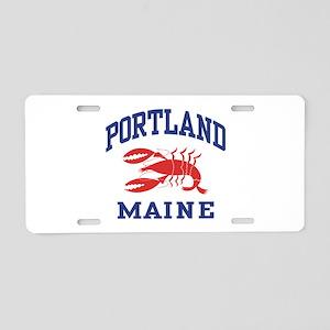 Portland Maine Aluminum License Plate