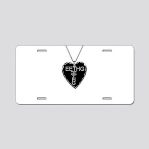 Black Heart Eethg Corps Inc Aluminum License Plate