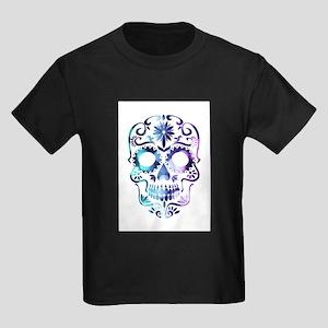 Blue & Purple Sugar Skull T-Shirt