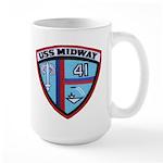 USS MIDWAY Large Mug