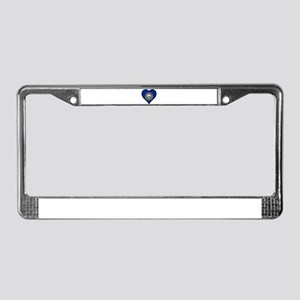 Love New Hampshire License Plate Frame