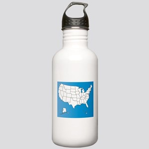 United States of Ameri Stainless Water Bottle 1.0L