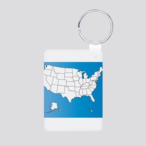 United States of America Keychains