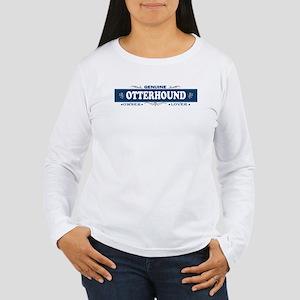 OTTERHOUND Womens Long Sleeve T-Shirt