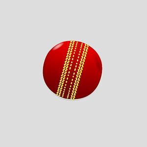 Cricket Ball Mini Button