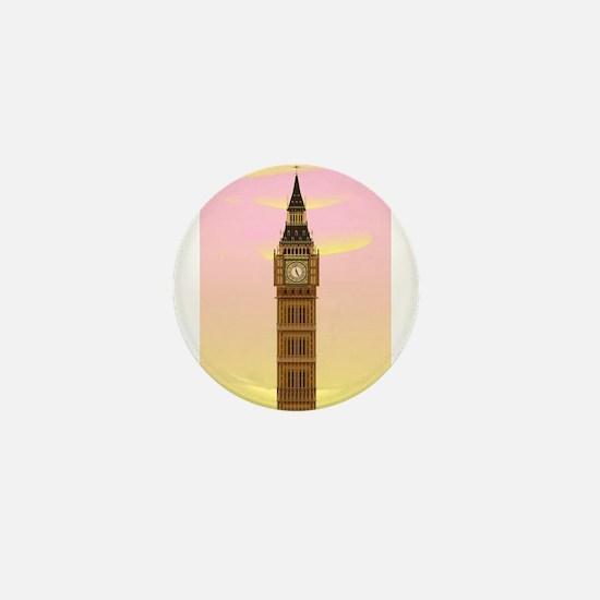 Big Ben at Dawn Mini Button