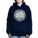 Trump For President Women's Hooded Sweatshirt