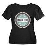 Trump For President Plus Size T-Shirt