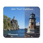 Split Rock Lighthouse 2 Pict Mousepad