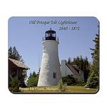 Old Presque Isle Lighthouse Mousepad