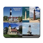 West Central Michigan Lighthouses Mousepad