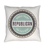 Trump For President Everyday Pillow