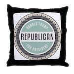 Trump For President Throw Pillow