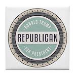 Trump For President Tile Coaster