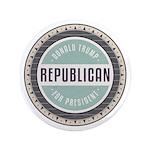 Trump For President Button